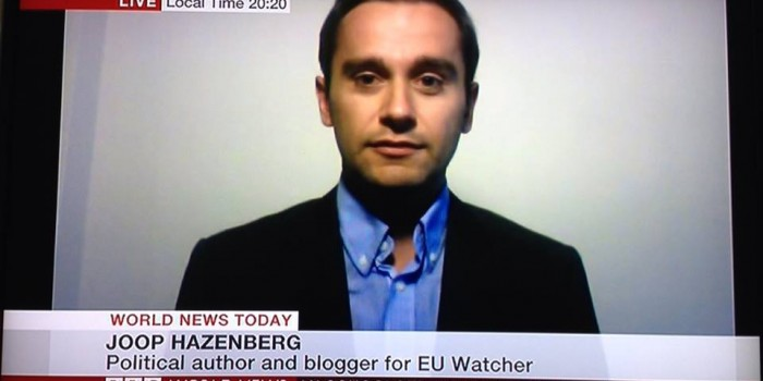 EU Watcher on stage and in the media