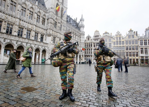 A sombre mood in Brussels